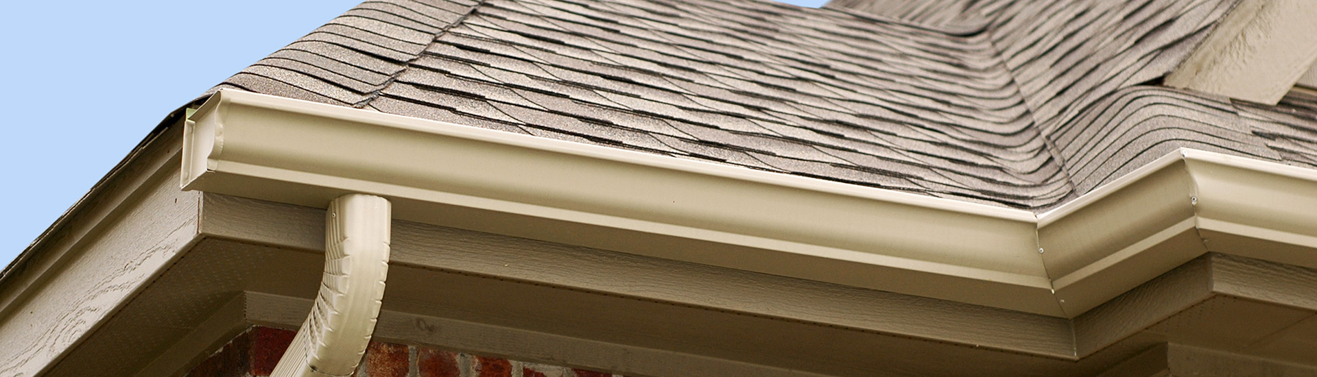 Roofing Shingles and Gutters