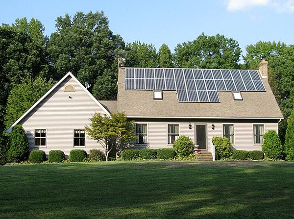 Solar on House Roof
