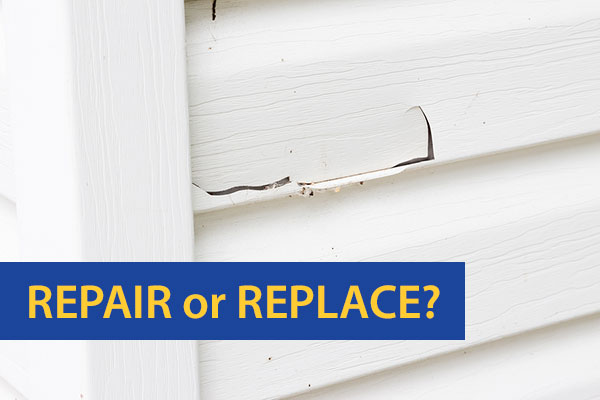 Vinyl Siding: Repair or Replace?