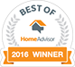 2016 Best of HomeAdvisor Winner