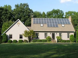 Solar on House Roof