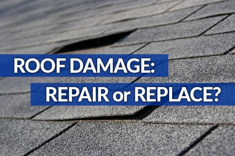 Roof Damage: Repair or Replace?