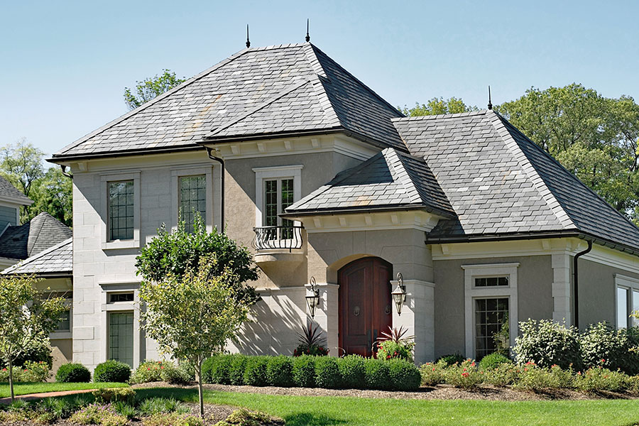 Home with Slate Roofing