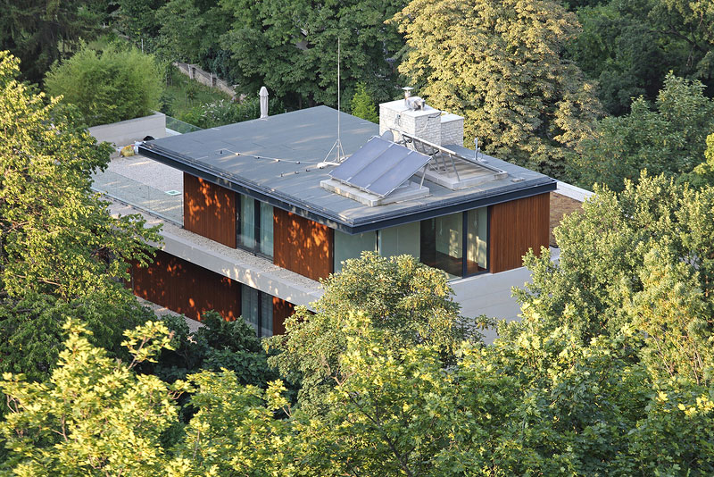 House with Flat Roof